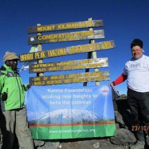 Adrian Roebuck – Mount Kilimanjaro – October 2015