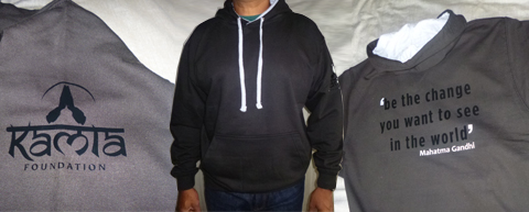 kamla foundation hoodies