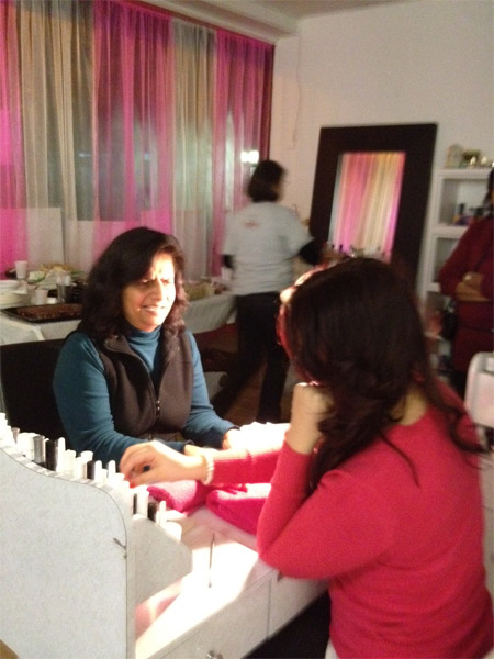 Pamper Day bash – Feb 2012